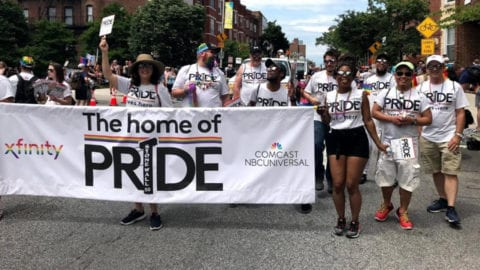 Home of the pride group photo