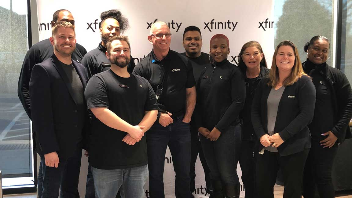 Employees from the Xfinity Store in Annapolis.